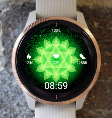 Garmin Watch Face - Mandala C13