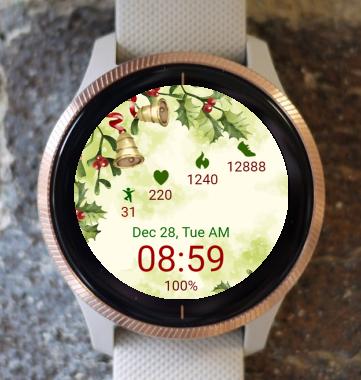 Garmin Watch Face - Christmas Bell