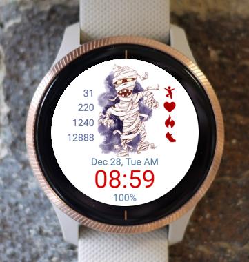 Garmin Watch Face - Mummy