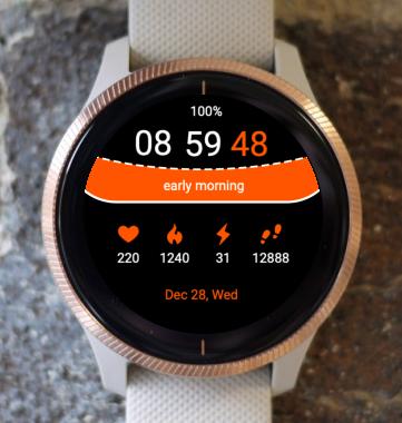 Garmin Watch Face - AwC-6001