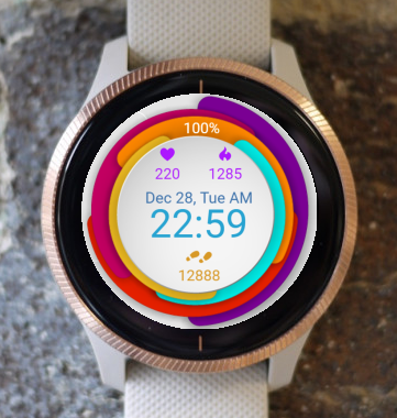Garmin Watch Face - Circles