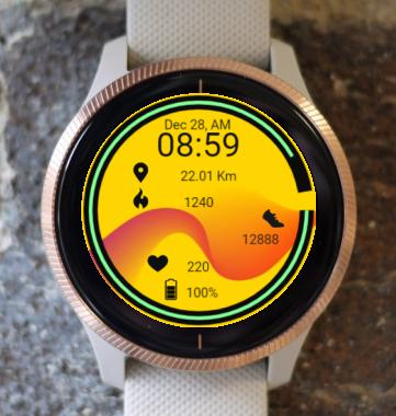 Garmin Watch Face - Cosmic Wave 2