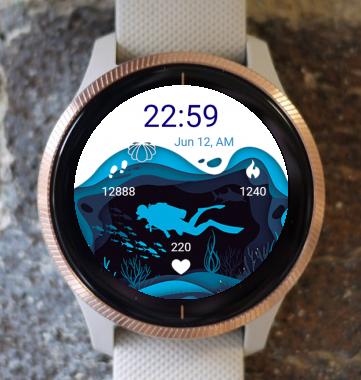 Garmin Watch Face - Diver