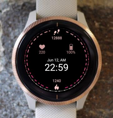 Garmin Watch Face - Dark Matter G