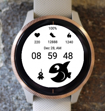 Garmin Watch Face - Diver 06