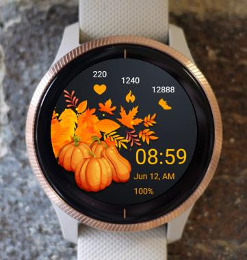 Garmin Watch Face - Thanksgiving 04