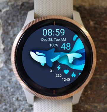 Garmin Watch Face - Orca