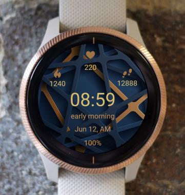 Garmin Watch Face - Lattice