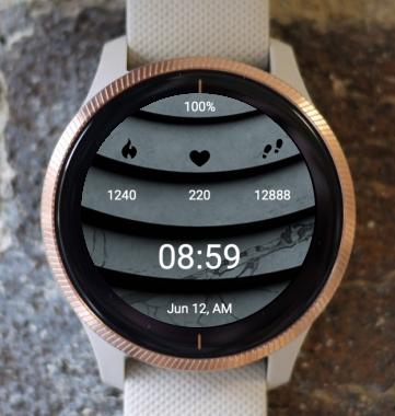 Garmin Watch Face - Geo 4