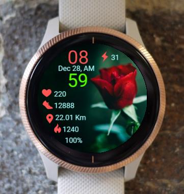 Garmin Watch Face - Active For Love