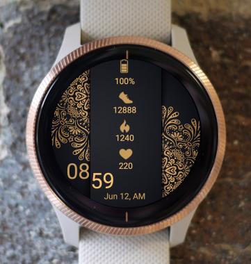 Garmin Watch Face - Mandala C14