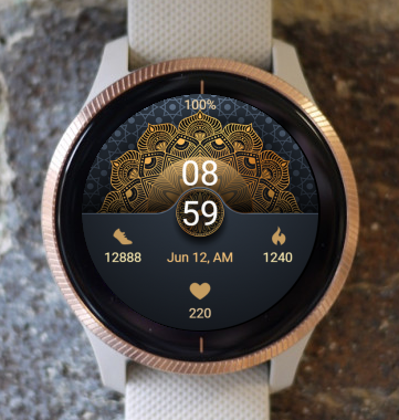 Garmin Watch Face - Mandala C23