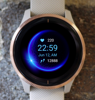 Garmin Watch Face - Halo
