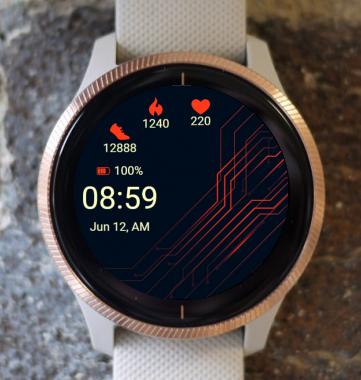 Garmin Watch Face - Energized