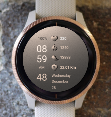 Garmin Watch Face - MR 3000