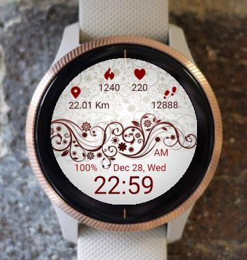 Garmin Watch Face - Tendril