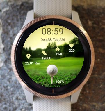 Garmin Watch Face - Golf 01