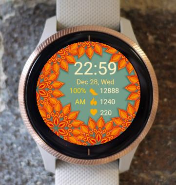 Garmin Watch Face - Autumn Lawn