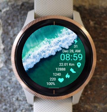 Garmin Watch Face - Ga Ocean