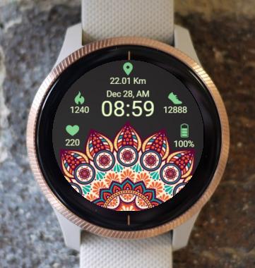 Garmin Watch Face - Ga Mandala  6
