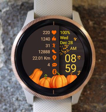 Garmin Watch Face - Thanksgiving 02