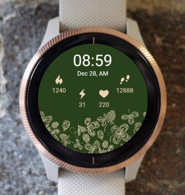 Garmin Watch Face - Forest Nature G