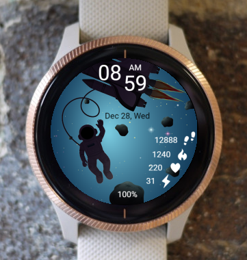 Garmin Watch Face - Hello World