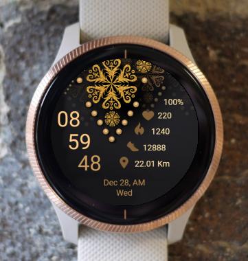 Garmin Watch Face - Mandala G7