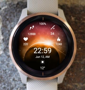 Garmin Watch Face - Eclipse