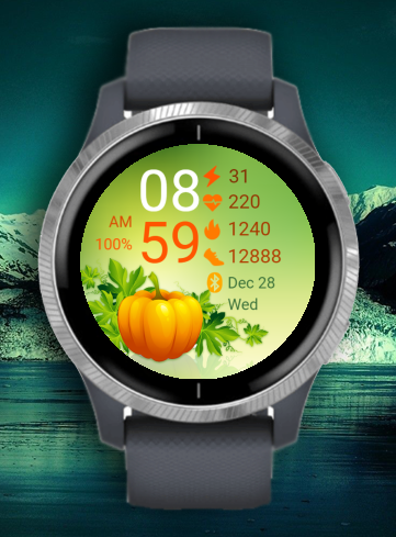 Autumn Pumpkin 02