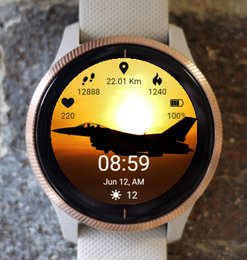 Garmin Watch Face - BW Air 05
