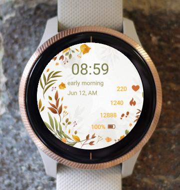 Garmin Watch Face - Smooth Autumn
