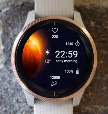 Garmin Watch Face - Final Frontier