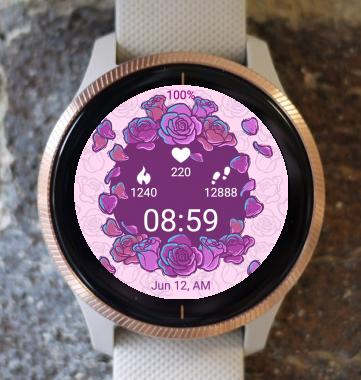 Garmin Watch Face - Floral