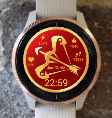 Garmin Watch Face - Sagittarius