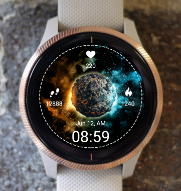 Garmin Watch Face - Space Impact