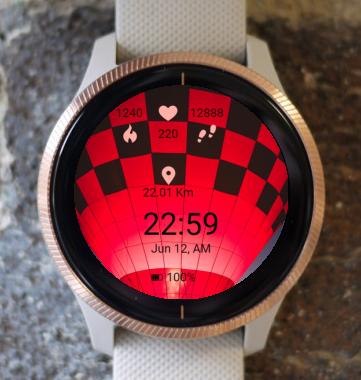 Garmin Watch Face - BW D100