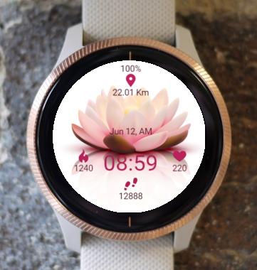 Garmin Watch Face - Lotus Flower