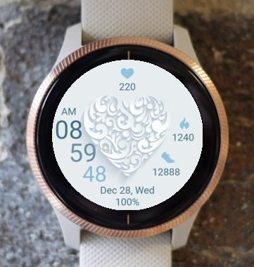 Garmin Watch Face - Clear