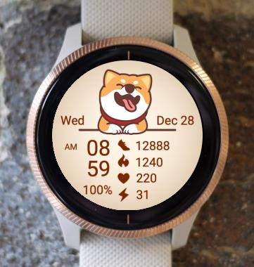 Garmin Watch Face - Joy