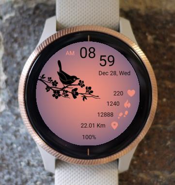 Garmin Watch Face - Bird 05