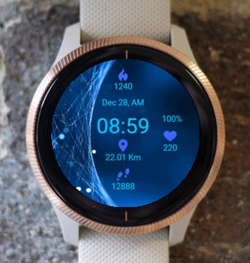 Garmin Watch Face - Quantum Field