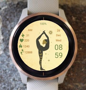 Garmin Watch Face - Yoga 07