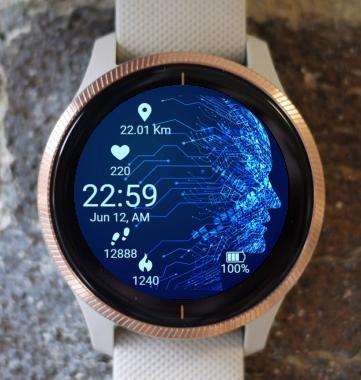 Garmin Watch Face - Digital