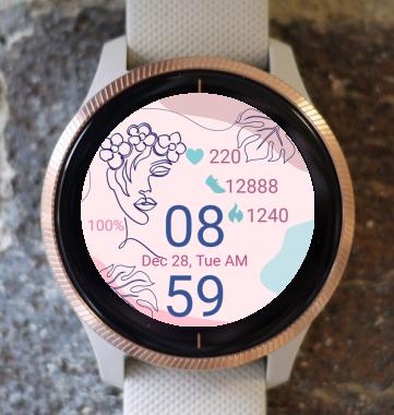 Garmin Watch Face - She 01