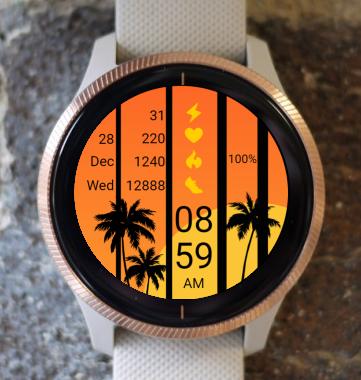 Garmin Watch Face - Summer 01