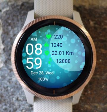 Garmin Watch Face - Underwater