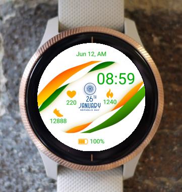 Garmin Watch Face - India Republic