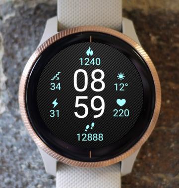Garmin Watch Face - Future G