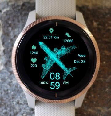 Garmin Watch Face - Flight